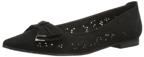 Marco Tozzi Womens 2-2-24500-22 Slipper Black Schwarz (BLACK 001) Size: 40