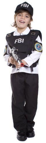 FBI Agent Costume – Large 12-14