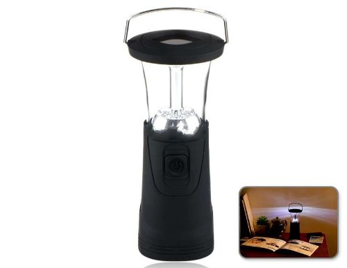 Solar Wind-Up 6-Led Camping Lamp Produced By Ysk