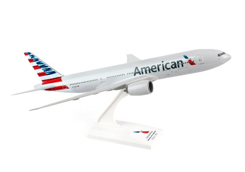 Daron Skymarks SKR747 American 777-200 New Livery Model Kit 1/200 Scale (American Airlines Model compare prices)