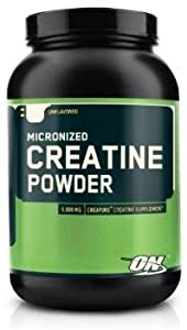 Optimum Nutrition Creatine Powder, 6 x 600g = 3600g
