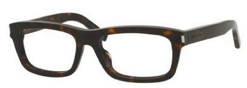 Yves Saint Laurent Yves Saint Laurent Yves 1 Eyeglasses-0086 Dark Havana-52mm
