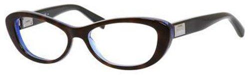 Max MaraMAX MARA Eyeglasses 1172 0D1K Havana Blue Black 52MM