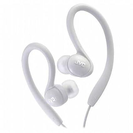 JVC HAEBX85W Inner Ear Sports Clip Headphone