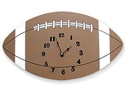 Trend-Lab Baby Nursery Football Wall Clock MVP Sport