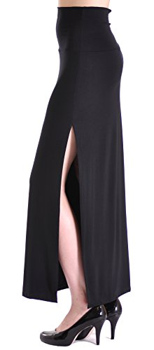 Fitted Maxi Skirt front-1051731