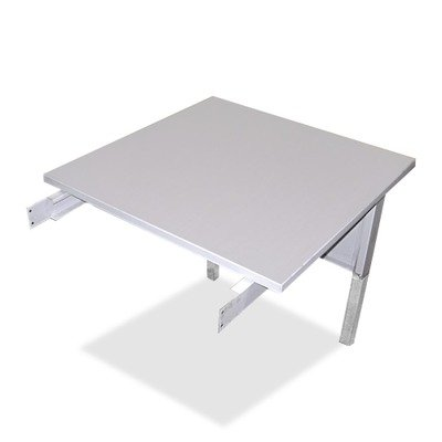 Mayline Kwik-File Mailflow-To-Go Mailroom System Tables, 30w x 30d x 29h, Pebble Gray, EA - MLNTB30PG