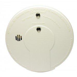 kidde i9060 smoke detector 9v battery powered ionization w hush button 4403. Black Bedroom Furniture Sets. Home Design Ideas