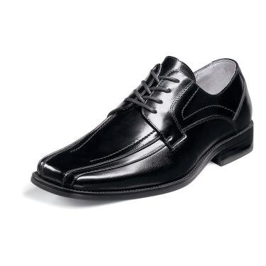 Stacy Adams Men's Corrado Black Leather Lace Up Shoe 23274 (7 W, Black)