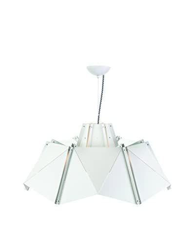 Nuevo Living Antoinette 1-Light Pendant Lamp, White