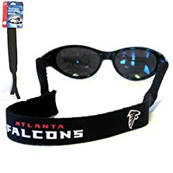 Atlanta Falcons Neoprene Sunglass Strap - NFL Football Fan Shop Sports Team Merchandise