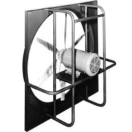 Marley Wed20ag3exp 20 Inch Heavy Duty Direct Drive Exhaust Wall Fan Explosion Proof Motor