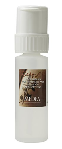 Iwata-Medea Pump Bottle with Alcohol, 4-Ounce