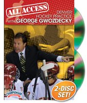 George Gwozdecky: All Access Denver Hockey Practice (DVD) by Championship Productions