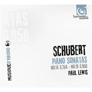 Schubert - Sonatas Nos. 19 and 14 (Paul Lewis)