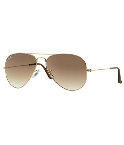 Ray-Ban RB3025 001/51 Medium Size 58 Aviator Sunglasses