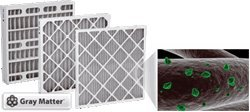 18 x 25 x 1 Odor Ban Carbon Pleated Furnace Filter - 12 pack 25x29x1 merv 12 ac furnace filters qty 6