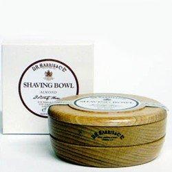 D R Harris Lavender Shaving Soap in Beech Wood Bowl 100g
