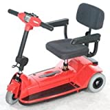 Zipr Mobility ZIPR3RED 3 Wheel Travel Scooter - Red