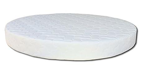 Baldiflex Matelas rond roundform–Silver Safe Cus. Savon incl.