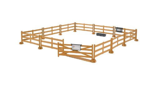 bruder-accessories-pasture-fence-brown
