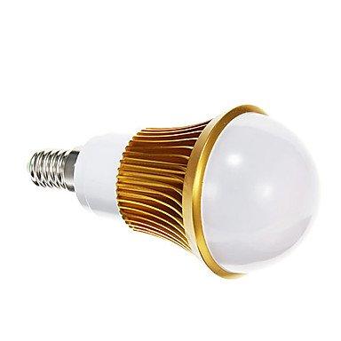 Rayshop - E14 5W 5730Smd 400Lm 6000K Cool White Light Led Globe Bulb(Ac 85-265V)