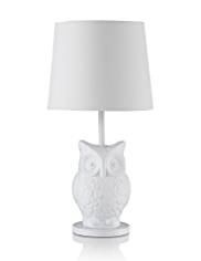 Boho Owl Table Lamp