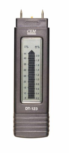 Wood, Concrete, Timber Moisture Meter - CEM DT-123