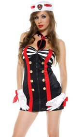Sailor Chic Sexy Sailor Costume by Forplay