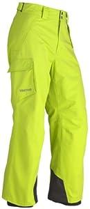 Marmot Men's Motion Waterproof Ski Pant - Green Lime, Medium