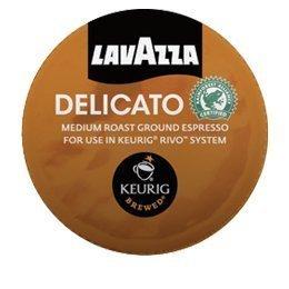 Lavazza Delicato, Espresso Packs For Keurig Rivo Systems By Lavazza [Foods]