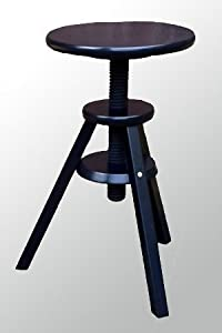 ikea svenerik swivel stool height adjustable solid wood. Black Bedroom Furniture Sets. Home Design Ideas
