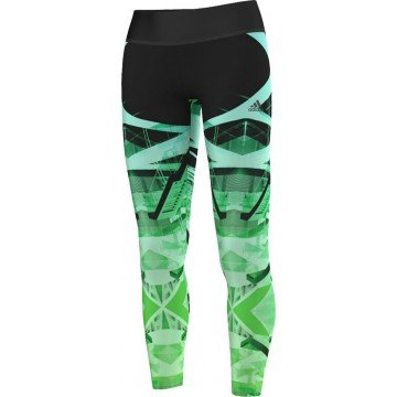 Adidas Ladies Studio Power Lace Running Tights