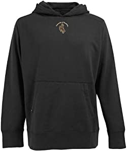Wyoming Signature Hooded Sweatshirt (Team Color) by Antigua