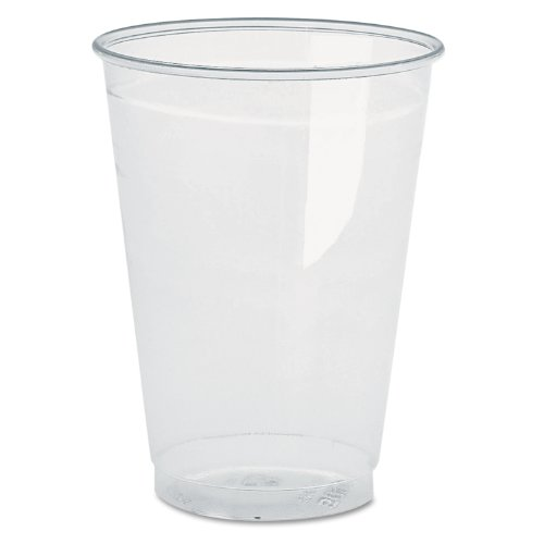 Boardwalk YP160C Clear Plastic PETE Cups, 16oz, 10 Bags of 50 each