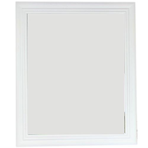 plain-white-bevelled-wall-mirror-wood-frame-50x60cm