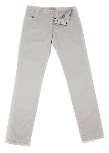 new-luigi-borrelli-light-brown-solid-pants-super-slim-38-54