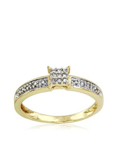 Fashion Strada Ladies 0.1CTW Diamond 10K Ring