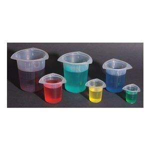 BTC0100 Polipropileno Tri-Corner Beaker, Capacidad 100 ml, 10 ml de la