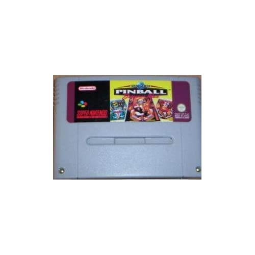 Super Pinball : Behind the Mask - Super Nintendo (SNES) [Spielzeug]
