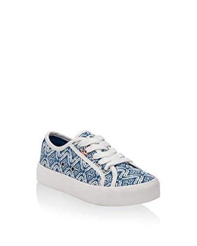 Pepe Jeans Sneaker Hannah Print [Blu/Bianco]
