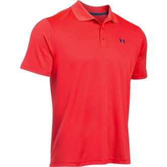 Under Armour Performance Polo uomo Golf, Colore Rocket Red, Taglia S