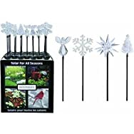 Moonrays Winter Stake Light Lawn Ornament Display-CLEAR WINTER STAKE LIGHT