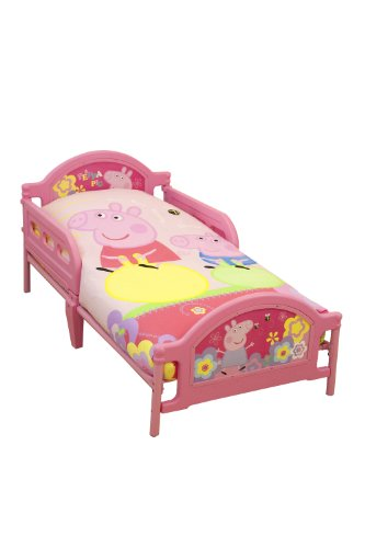 Character World Peppa Pig Adorable Toddler Bed