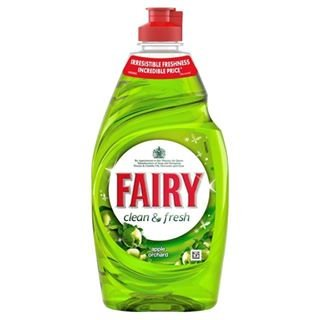 Fairy Liquid Green Apple433ml