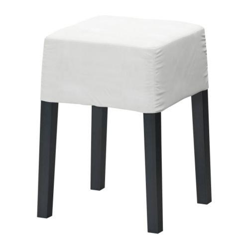 IKEA NILS - marco Taburete, negro - 60x60 cm