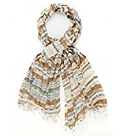 Indigo Collection Lightweight Cowboy Print Scarf
