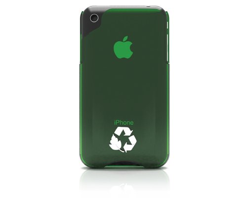 Innovez Biodegradable Hard Case For Iphone 3G/3Gs - Green
