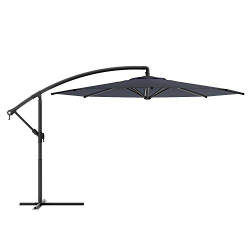 Homewell 10' Complete Freestanding Outdoor Patio Umbrella