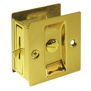 Deltana SDL25U15 Privacy Lock Pocket Door Hardware